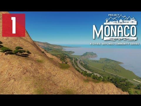 Cities: Skylines: Project Monaco - EP 1 - Map Reveal with MrMiyagi