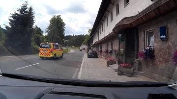 Durch Johanngeorgenstadt mit dem Auto