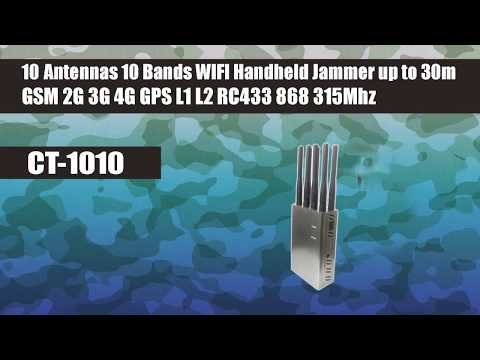 Portable gps cell phone jammer how to - gps wifi cellphone jammers vs