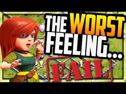 THE WORST FEELING IN Clash of Clans - Can YOU Predict the Outcome?