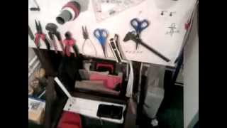 Workshop Electronics Under Shelves For Tool Part 3