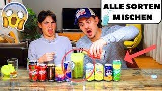 ALLE GETRÄNKE ZUSAMMEN MISCHEN 🤩DER ULTIMATIVE DRINK! EKELIG oder LECKER?!