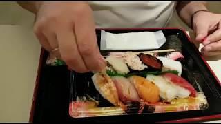 Япония. Секретная технология поедания суши.