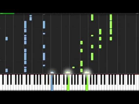 Mayonaka no Orchestra - Naruto Shippūden [Piano Tutorial] (Synthesia)