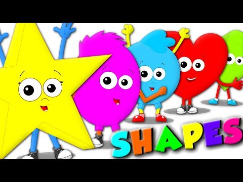 Learn Shapes | Shapes Song | special education | Baby Playlist | Homeschool For Kids  | Oh My Genius