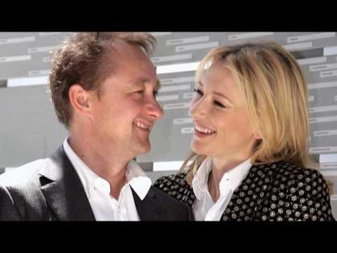 Cate Blanchett and her husband Andrew Upton