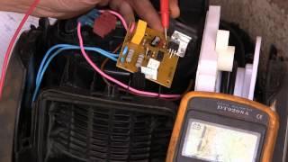 Пылесос Electrolux Cyclonic ремонтируем