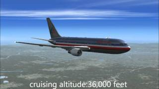fsx american airlines new york to los angeles