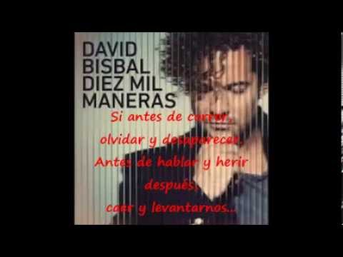 diez mil maneras single de david bisbal Rastatt