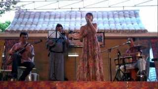 2012.07.21@バンコクのSP幼稚園「沖縄盆踊り祭り」にて歌った一曲です...