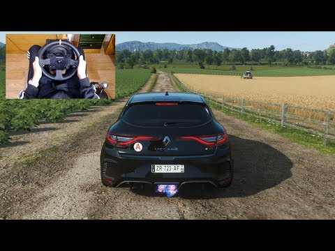 Forza Horizon 4 - 2018 RENAULT MEGANE RS - Test Drive With THRUSTMASTER TX + TH8A - 1080p60FPS