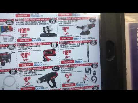 Stopping At Harbor Freight Last day Black Friday Sales