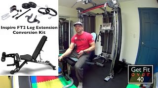 February 2015 Update - Inspire Fitness Leg Conversion Kit - New Fitness Contest Dates