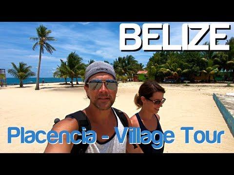 Backpacking Belize - Placencia - Village Tour