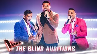 The Blinds: The Koi Boys sing 'Shake Your Body' | The Voice Australia Season 8