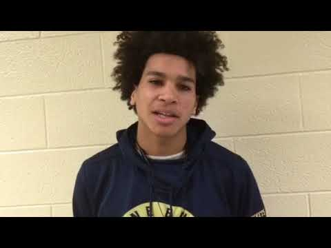 2018 State Class AA Hoops first round: Pine Bush's Brandon Powell