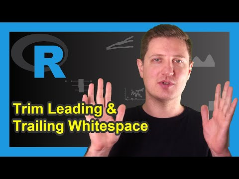 Trim Leading and Trailing Whitespace in R (Example) | Remove Spaces with trimws Function