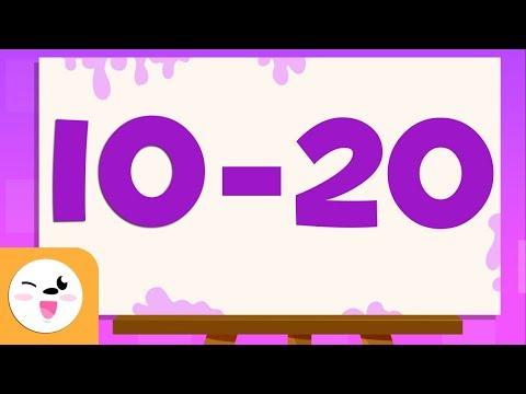 Adivina Los Números Del 10 Al 20 - Aprende A Escribir Y Leer Los Números Del 1 Al 100
