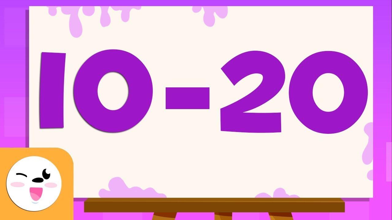 Adivina Los Números Del 10 Al 20 Aprende A Escribir Y Leer Los Números Del 1 Al 100 Youtube