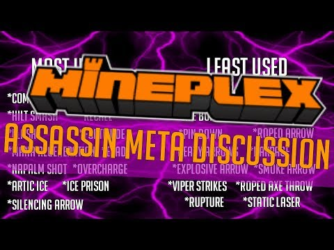 Mineplex Clans Assassin Meta Discussion