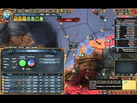 EU4 - Tutorial France 23 - First Colony and Trade