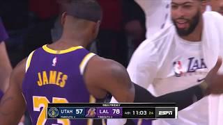 Los Angeles Lakers vs Utah Jazz | October 25, 2019