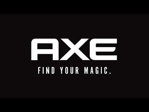 """AXE """"FIND YOUR MAGIC"""""""