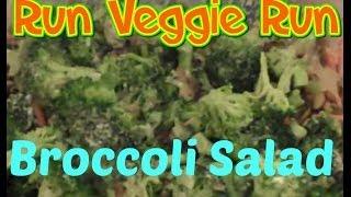 #30daysaladchallenge Day 27: Broccoli Salad