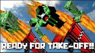 MINECRAFT MOB GUNS MOD / SHOOT EVERYTHING OUT FROM A BAZOOKA !!