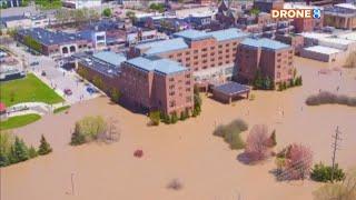 'Devastating': Parts of Midland flood after dam failure