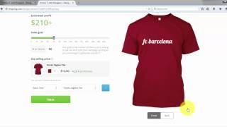 سلسلة الربح من الانترنت : شرح موقع teespring  و طريقة ربح مئات الدولارات كل شهر thumbnail