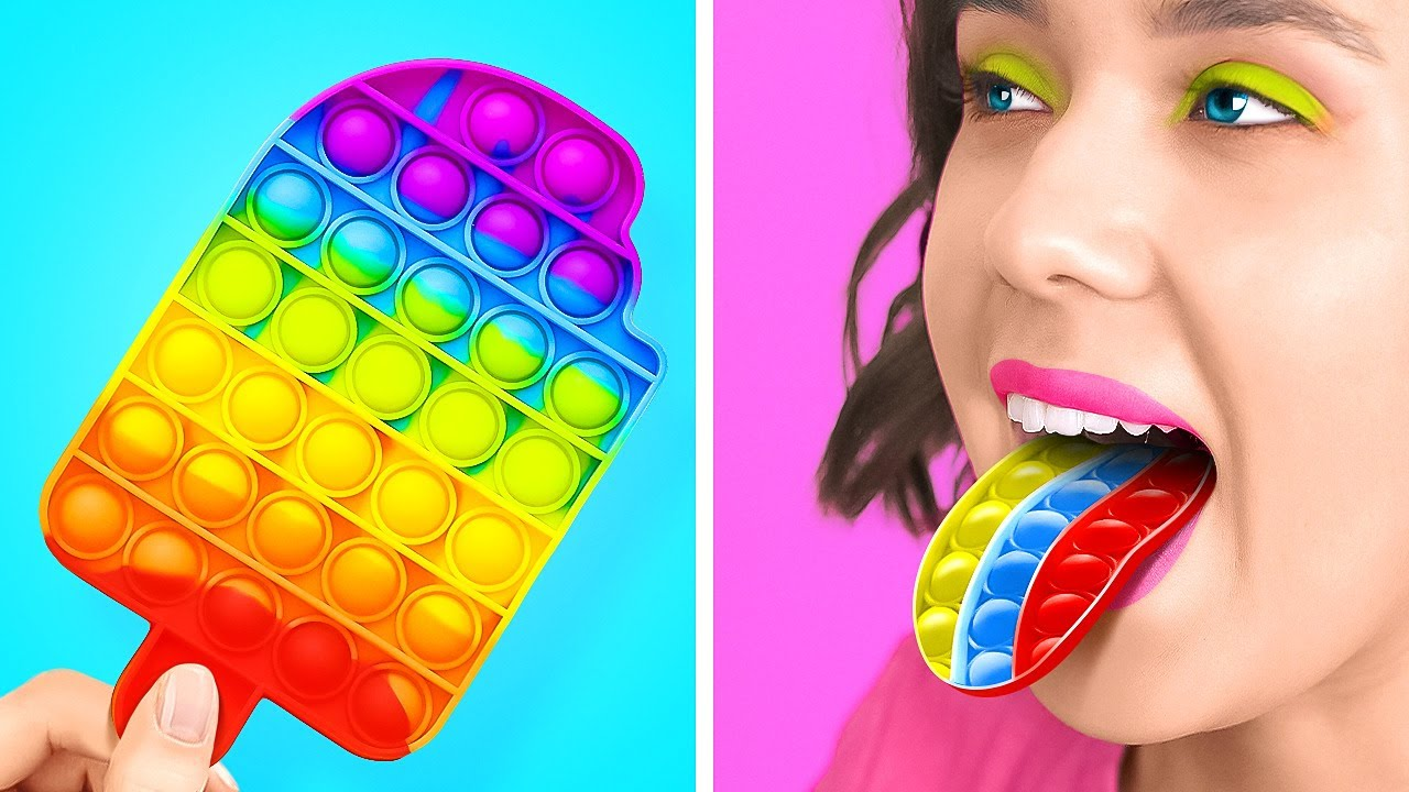 POP IT! FANTASTIC COLORFUL HACKS AND CRAFTS