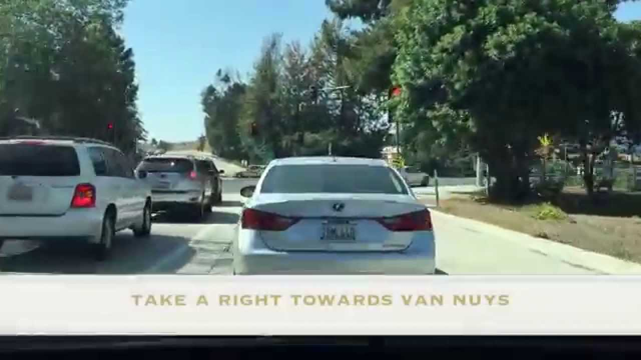 Keyes Toyota Van Nuys Directions From North Hollywood To Keyes Toyota Youtube