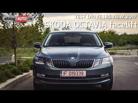 SKODA OCTAVIA facelift 2017 | TEST DRIVE eblogAUTO