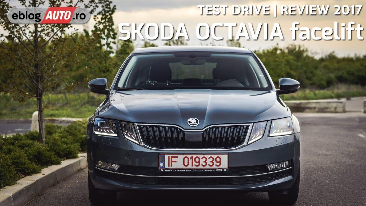 Skoda Octavia Facelift 2017 Test Drive Eblogauto