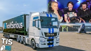 ΣΤΟ ΤΕΛΟΣ ΤΗΣ ΓΗΣ! | Euro Truck Simulator 2 |#24| TechItSerious