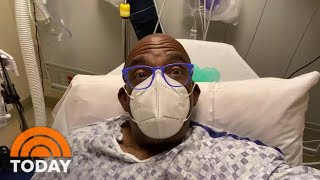 Al Roker Checks In From His Hospital Bed Before Shoulder Surgery | TODAY