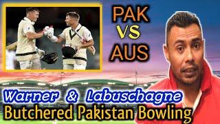 Warner & Labuschagne Butchered Pakistan Bowling!   2nd Test Day 1  Danish Kaneria