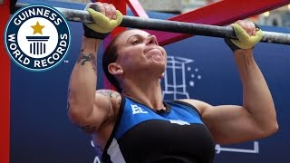 Most pull ups in 24 hours (female) - Guinness World Records