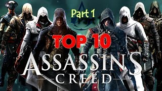 Top 10 Best Assassin Creed PC Game All list ||Best collection Part 1 [HD]