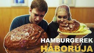 Hamburgerek háborúja - Zing VS. Marika néni | PANÍR ALATT