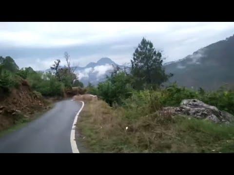 Pithoragarh city - Road trip from Bans to Khatigaon