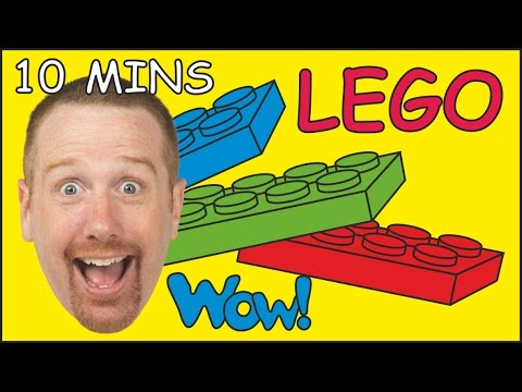 Thumbnail: Lego Toy Train Story + MORE | Stories for Kids from Steve and Maggie | Wow English TV
