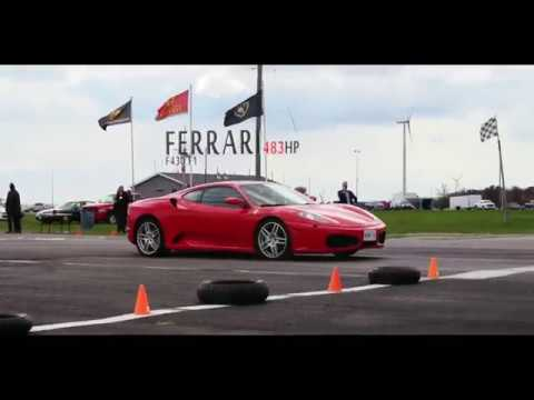 Ultimate Exotics Track Day Experience | Ferrari F430 F1 | Peter Styles