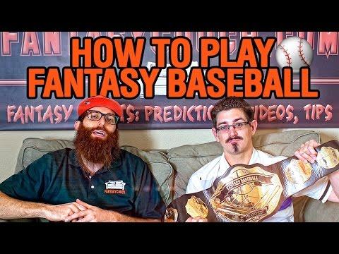 How To Play Fantasy Baseball