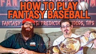 How to play fantasy baseball