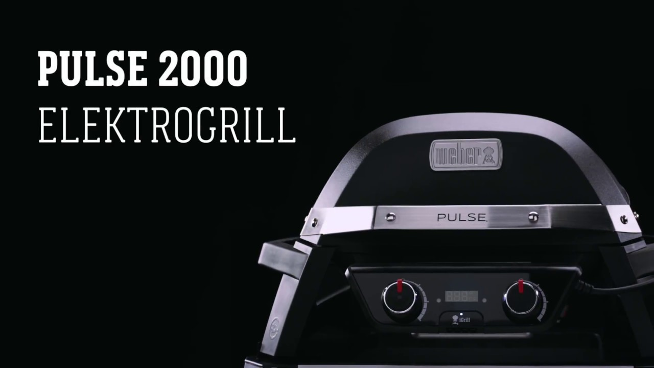 Weber Elektrogrill Zusammenbauen : Weber stephen grill pulse youtube