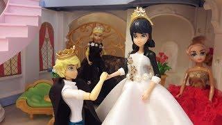 На балу у принцессы Маринетт Дюпенчен. Видео из игрушек Леди Баг и Супер-Кот. Часть3