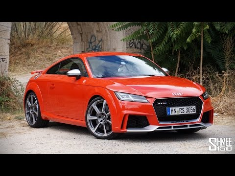 My First Drive in the NEW 400hp Audi TT RS