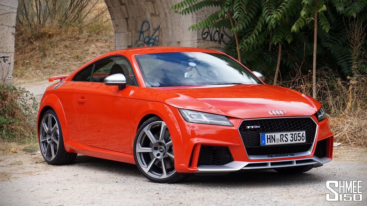 My First Drive in the NEW 400hp Audi TT RS - YouTube